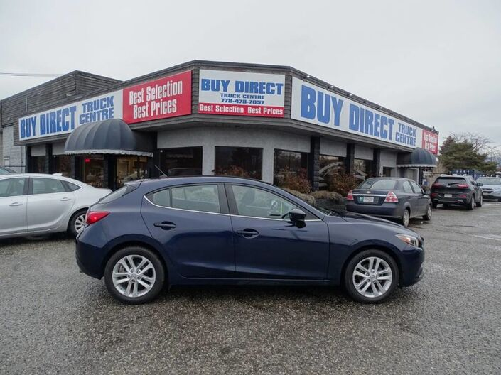 2014 Mazda Mazda3 GS-SKY Back-up camera, Low KM's Kelowna BC