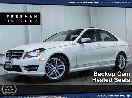 2014_Mercedes-Benz_C 250_Local 1-Owner Sport Backup Cam Htd Seats_ Portland OR