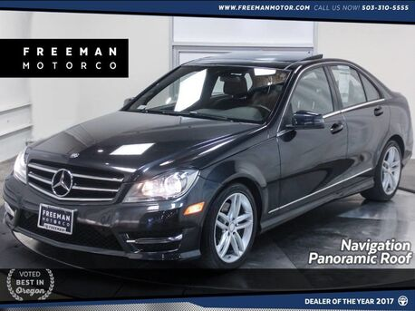 2014_Mercedes-Benz_C 300_Sport 4MATIC Back-Up Cam Pano Nav Htd Seats_ Portland OR