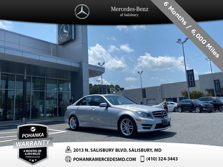 2014_Mercedes-Benz_C-Class_C 250 ** NAVIGATION & SUNROOF **_ Salisbury MD