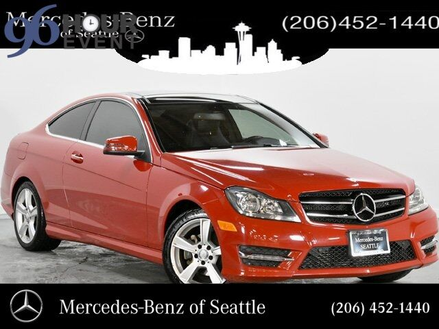 2014 Mercedes-Benz C-Class C 250 Coupe Seattle WA