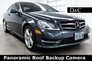 2014_Mercedes-Benz_C-Class_C 250 Panoramic Roof Backup Camera_ Portland OR