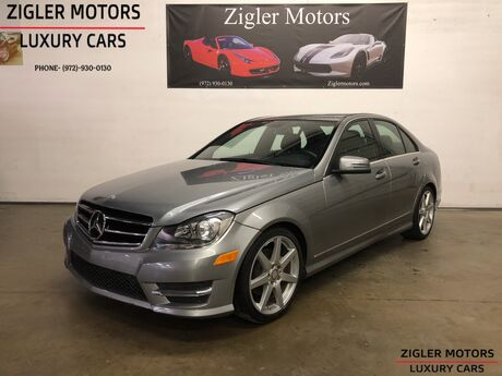 2014 Mercedes-Benz C-Class C 250 Sport Becker Map Navigation Addison TX