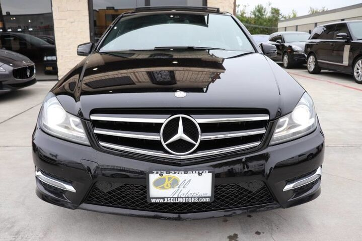 2014 Mercedes-Benz C-Class C 250 Sport CLEAN CARFAX 2 OWNERS NAVI PANO SHOWROOM CONDITION!!! Houston TX