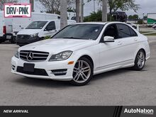 2014_Mercedes-Benz_C-Class_C 250 Sport_ Miami FL
