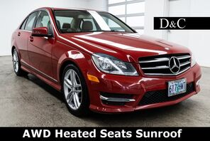 2014_Mercedes-Benz_C-Class_C 300 4MATIC Heated Seats Sunroof_ Portland OR
