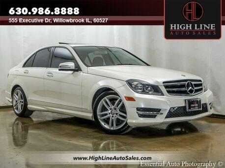 2014_Mercedes-Benz_C-Class_C 300 Sport_ Willowbrook IL