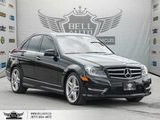 2014 Mercedes-Benz C-Class C 350, 4MATIC, NAVI, BACK-UP CAM, PANO ROOF, PUSH START Toronto ON