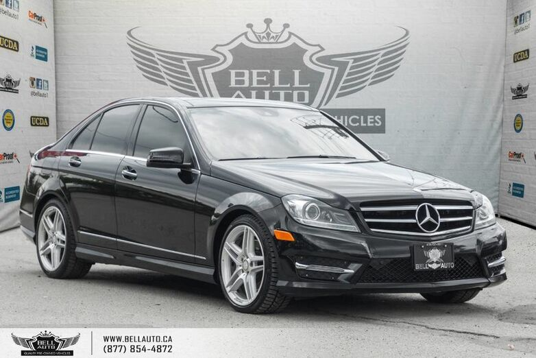 2014 Mercedes-Benz C-Class C 350, 4MATIC, NAVI, BACK-UP CAM, PANO ROOF, PUSH START Toronto ON
