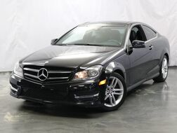 2014_Mercedes-Benz_C-Class_C 350 Sport Coupe / 3.5L V6 Engine / RWD / Panoramic Sunroof / Navigation / Parking Aid with Rear View Camera / Harman Kardon Premium Sound System / Blind Spot Assist_ Addison IL