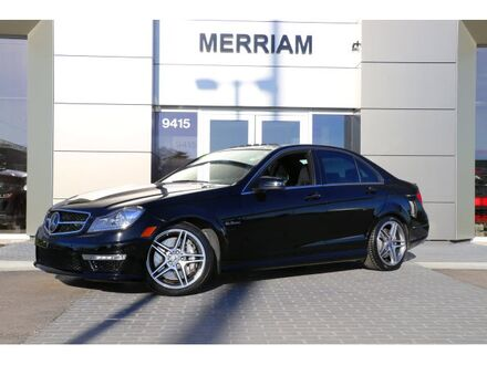 2014_Mercedes-Benz_C-Class_C 63 AMG_ Merriam KS