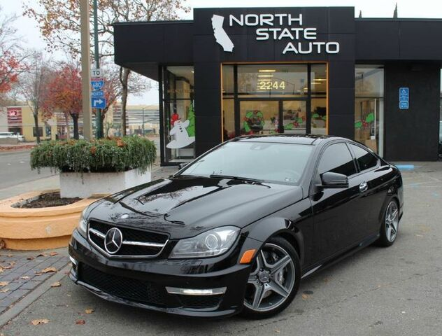2014_Mercedes-Benz_C-Class_C 63 AMG_ Walnut Creek CA