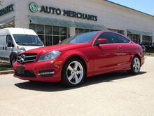 2014_Mercedes-Benz_C-Class_C250 Coupe LEATHER, PANORAMIC SUNROOF, NAVIGATION, CLIMATE CONTROL, BLUETOOTH CONNECTIVITY_ Plano TX