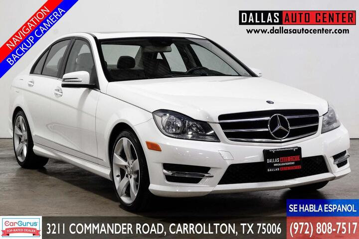 2014 Mercedes-Benz C-Class C350 Sport Sedan Carrollton TX