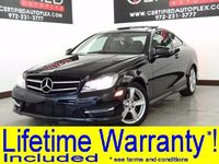 Mercedes-Benz C250 COUPE MULTIMEDIA PKG NAVIGATION PANORAMA REAR CAMERA BLUETOOTH POWER LOCKS 2014