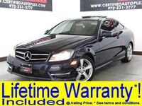 Mercedes-Benz C250 COUPE NAVIGATION PANORAMIC ROOF POWER LEATHER SEATS BLUETOOTH MEMORY SEAT K 2014