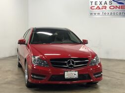 2014_Mercedes-Benz_C250 Coupe_SPORT AUTOMATIC PANORAMA LEATHER SEATS BLUETOOTH PADDLE SHIFTERS_ Carrollton TX