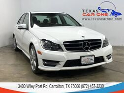 2014_Mercedes-Benz_C250_SPORT NAVIGATION SUNROOF LEATHER HEATED SEATS REAR CAMERA BLUETOOTH_ Carrollton TX