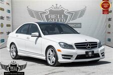 2014 Mercedes-Benz C350 4MATIC AMG NAVIGATION PANO SUNROOF LEATHER BACKUP CAMERA