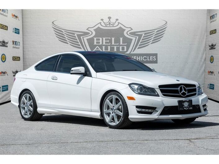 2014 Mercedes-Benz C350 4MATIC AMG PKG NAVIGATION PANO SUNROOF LEATHER BACKUP CAMERA Toronto ON