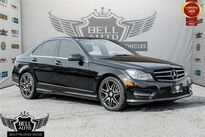Mercedes-Benz C350 4MATIC NAVIGATION PANO SUNROOF LEATHER BACKUP CAMERA 2014