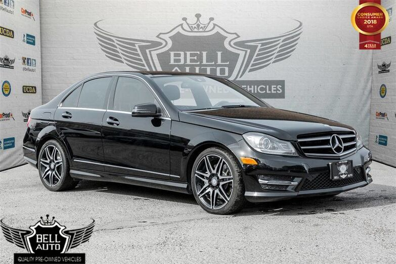 2014 Mercedes-Benz C350 4MATIC NAVIGATION PANO SUNROOF LEATHER BACKUP CAMERA Toronto ON