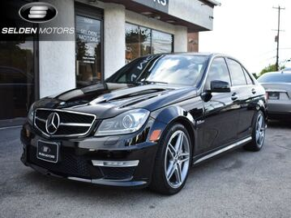 2014_Mercedes-Benz_C63_AMG_ Conshohocken PA