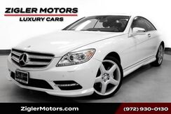 2014_Mercedes-Benz_CL 550_AMG Coupe Diamond White Night View Assist 20 AMG Wheels_ Addison TX