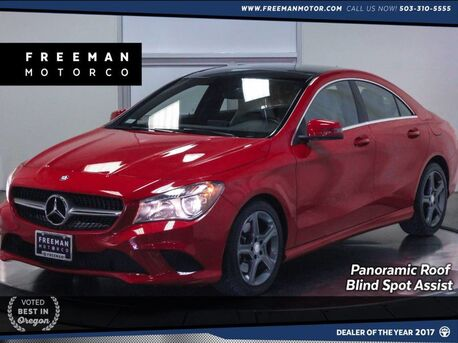 2014_Mercedes-Benz_CLA 250_4MATIC Pano Blind Spot Asst Heated Seats_ Portland OR