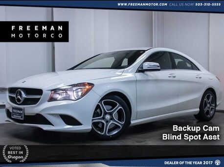 2014_Mercedes-Benz_CLA 250_Backup Cam Blind Spot Asst Htd Seats_ Portland OR