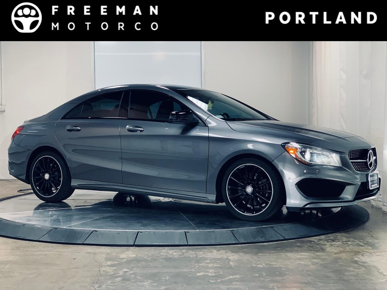 2014 Mercedes-Benz CLA 250 Bluetooth 4Matic Neon Stitching Portland OR