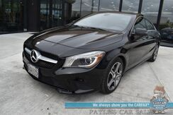 2014_Mercedes-Benz_CLA 250_Power & Heated Leather Seats / Navigation / Panoramic Sunroof / Harman Kardon Speakers / Bi Xenon Headlights / Blind Spot Assist / Bluetooth / Back Up Camera / 38 MPG_ Anchorage AK
