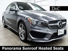 2014_Mercedes-Benz_CLA_CLA 250 Panorama Sunroof Heated Seats_ Portland OR