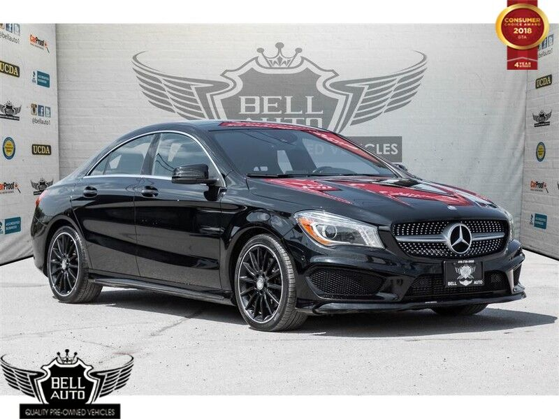 2014 Mercedes-Benz CLA-Class 4MATIC LIMITED PKG NAVI SUNROOF LEATHER BACKUP CAM
