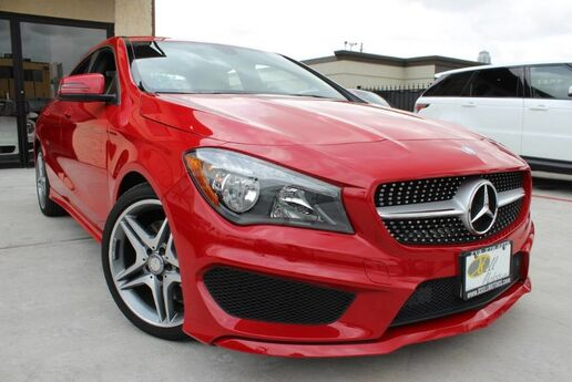 2014 Mercedes-Benz CLA-Class CLA 250 1 OWNER, CLEAN CARFAX,SPORT PKG,LOADED! Houston TX