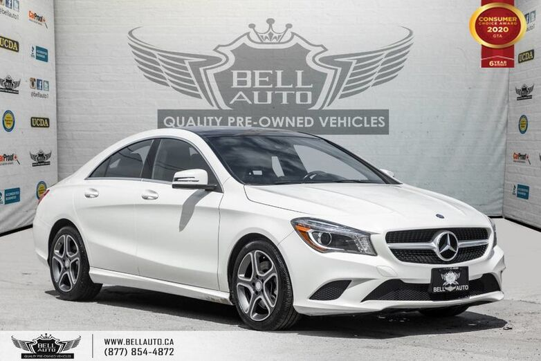 2014 Mercedes-Benz CLA-Class CLA 250, NO ACCIDENT, NAVI, REAR CAM, B.SPOT, PANO ROOF Toronto ON
