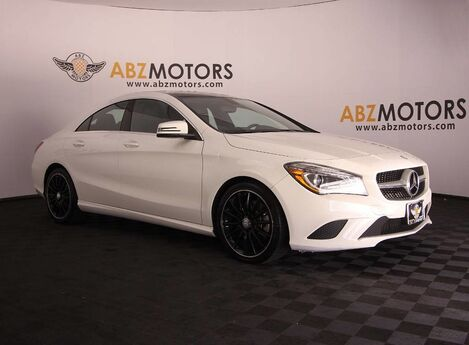 2014 Mercedes-Benz CLA-Class CLA 250 Navigation,Panoramic Roof,Bluetooth,Xenon Lights,AMG Wheels Houston TX