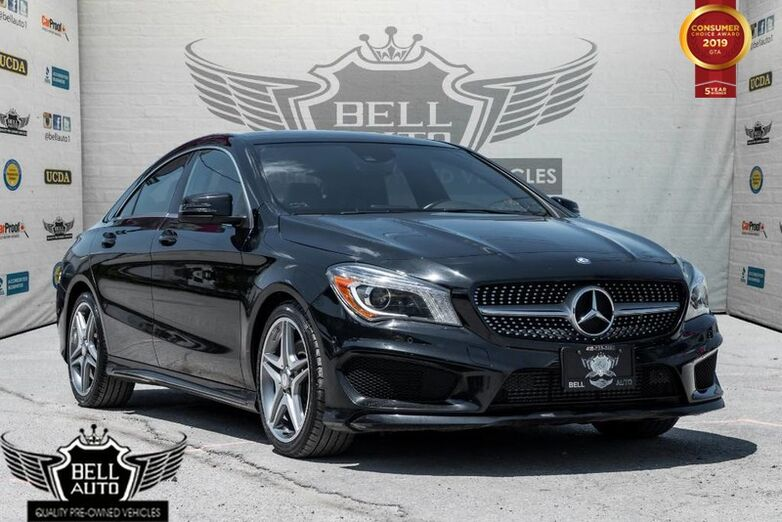 2014 Mercedes-Benz CLA250 LIMITED PACKAGE SUNROOF LEATHER INTERIOR BACK-UP CAMERA Toronto ON