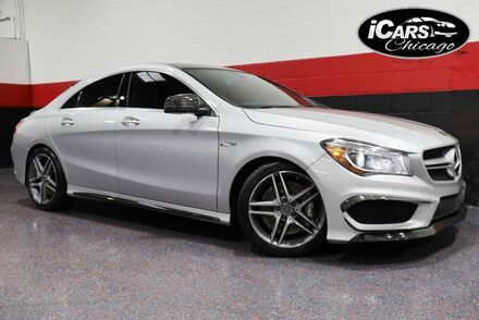 2014_Mercedes-Benz_CLA45 AMG 4-Matic_w/Performace Packages 4dr Sedan_ Chicago IL