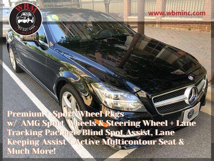 2014_Mercedes-Benz_CLS 550_4MATIC w/ Premium Package_ Arlington VA