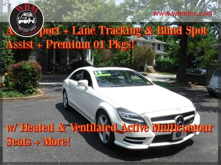 2014_Mercedes-Benz_CLS 550_4MATIC w/ Sport Package_ Arlington VA