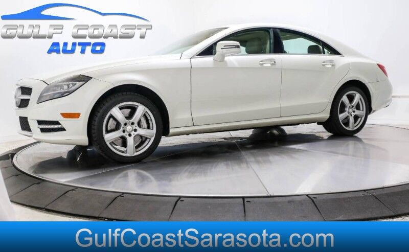 2014 Mercedes-Benz CLS-CLASS CLS 550 LEATHER NAVI SUNROOF LOTS OF SERVICE Sarasota FL