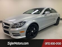 2014_Mercedes-Benz_CLS550_AMG Sport Driver Assist Lane keeping Blind Spot Prior CPO_ Addison TX
