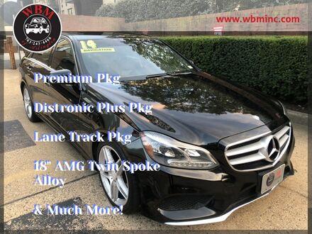 2014_Mercedes-Benz_E 350_4MATIC Sport w/ Premium Pkg_ Arlington VA