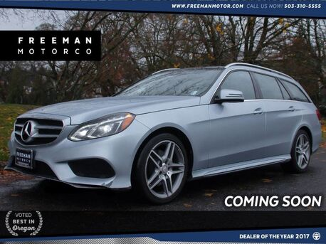 2014_Mercedes-Benz_E 350_4MATIC Wagon Sport Back-Up Cam 3rd Row Seats Nav_ Portland OR