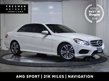 2014_Mercedes-Benz_E 350_AMG Sport 21k Miles Nav Back-Up Cam Heated Seats_ Portland OR