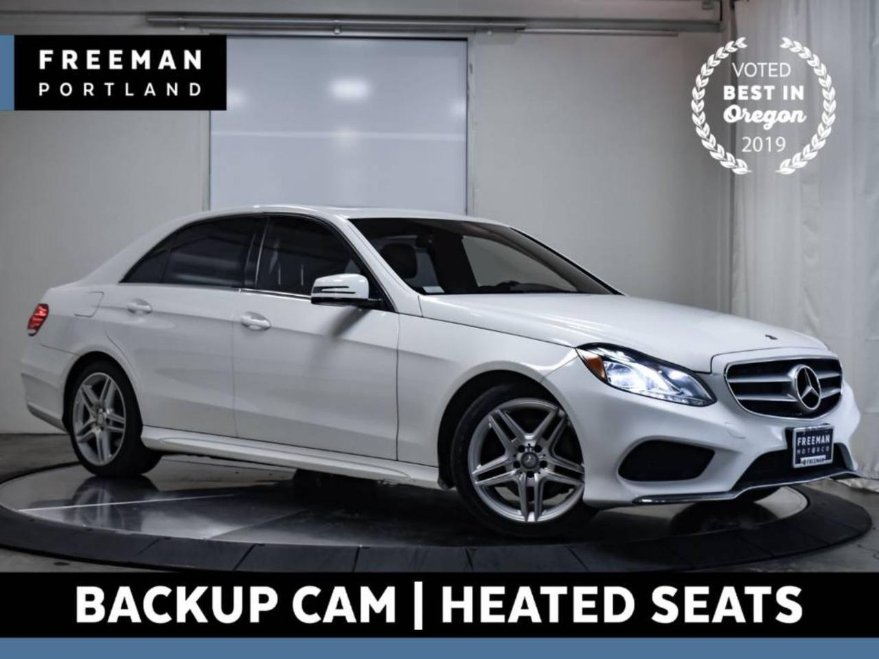 2014 Mercedes-Benz E 350 AMG Sport Back-Up Cam Heated Seats NAV