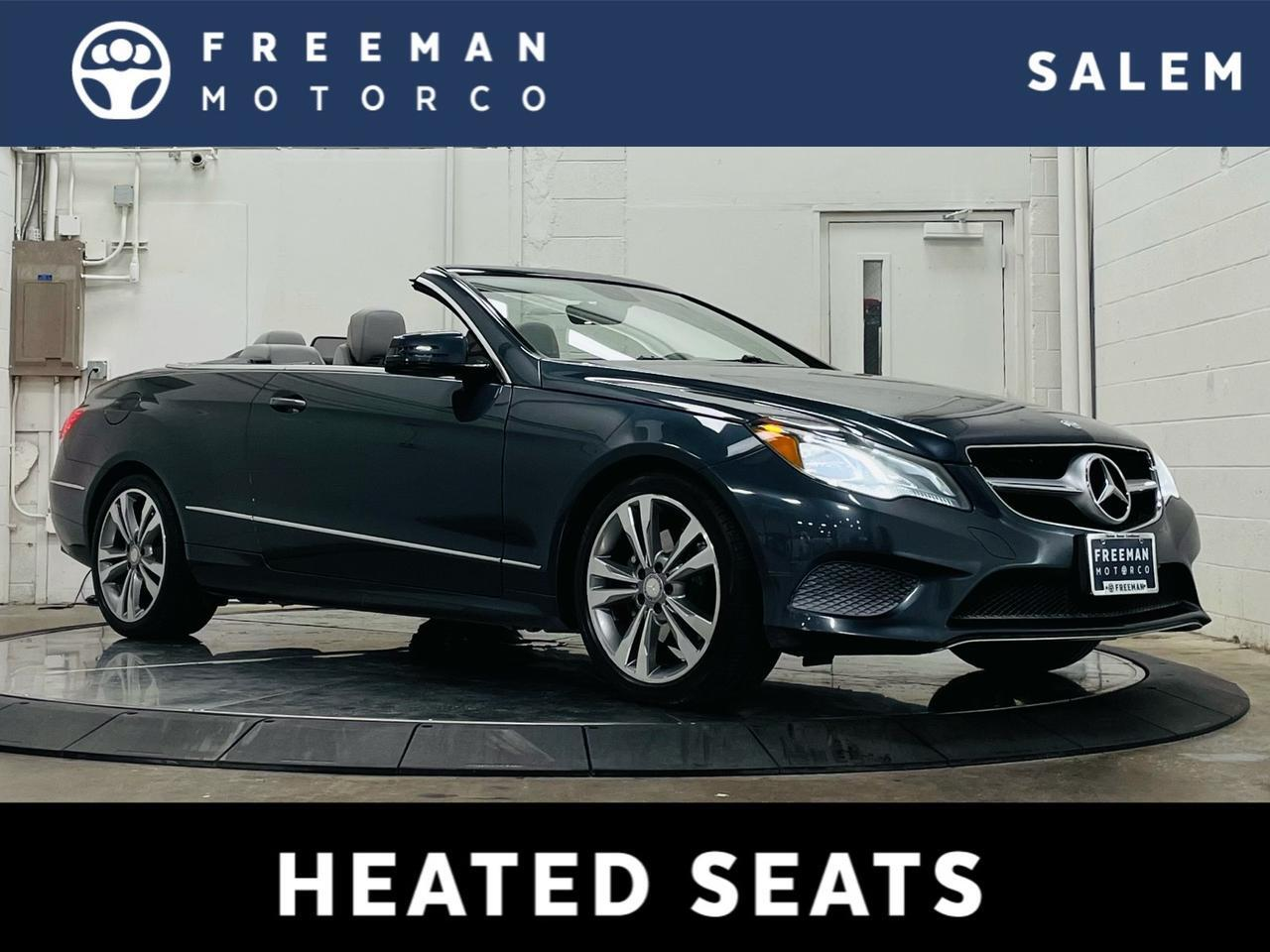 2014 Mercedes-Benz E 350 Cabriolet Backup Camera Heated Seats Salem OR