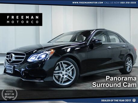 2014_Mercedes-Benz_E 550_4MATIC Pano Htd/Cooled Seats Keyless-GO_ Portland OR