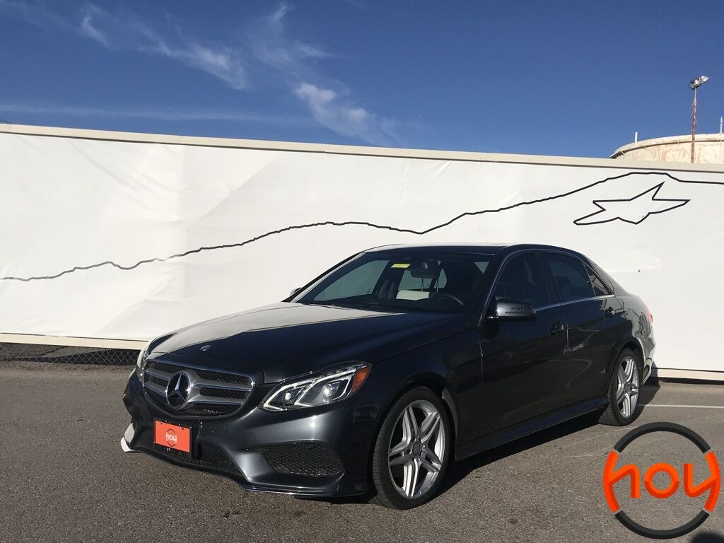 2014_Mercedes-Benz_E-Class_4dr Sdn E 350 Luxury 4MATIC_ El Paso TX